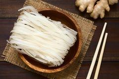 rå rice för nudlar Fotografering för Bildbyråer