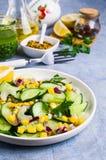 rå salladgrönsaker Fotografering för Bildbyråer