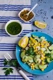 rå salladgrönsaker Royaltyfri Fotografi