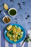 rå salladgrönsaker Arkivbilder