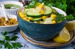 rå salladgrönsaker Royaltyfria Bilder