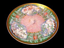 rå sashimi för fiskfugupuffer arkivbilder