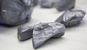 rå silicium Arkivfoto