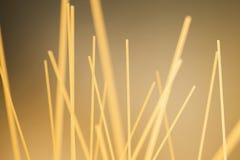 rå spagetti Royaltyfri Fotografi