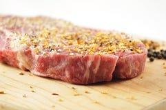 rå steak Royaltyfri Bild
