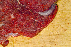 rå steak Royaltyfri Fotografi