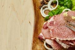 rå steak royaltyfria foton