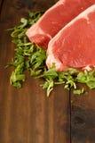 rå steak för nötkött Royaltyfri Fotografi
