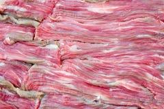 rå textur för meat Fotografering för Bildbyråer