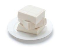 rå tofu Royaltyfria Bilder