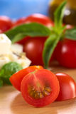 rå tomat för Cherry Arkivbild