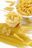 rå white för pasta Royaltyfria Foton