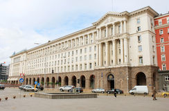 Råd av ministrar i Sofia Royaltyfri Foto