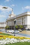Rådet av ministrar som bygger i centrala Sofia Arkivfoton