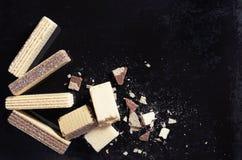 Rån med choklad och vanilj Royaltyfria Foton