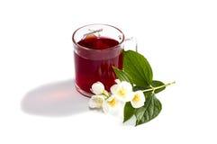 Råna av den närliggande blomman för rött te Royaltyfri Bild