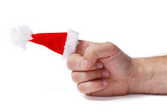 råna för jul Arkivbild