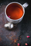 råna tea royaltyfri bild