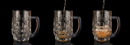 Rånar av öl Arkivbild
