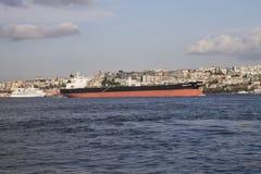 Råoljatankfartyg Arkivbilder