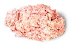 Rått jordnötkött roterar Arkivfoton