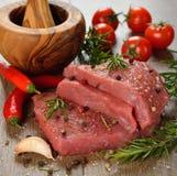Rått kött Royaltyfria Bilder