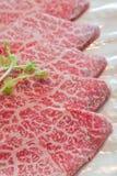 Rått kött för skiva Fotografering för Bildbyråer