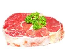 Rått luta griskött Royaltyfri Foto