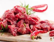 Rått nötkött arkivfoton