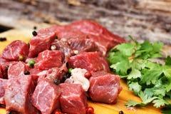 Rått nötköttkött fotografering för bildbyråer