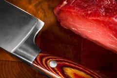 rått val för meat arkivbilder