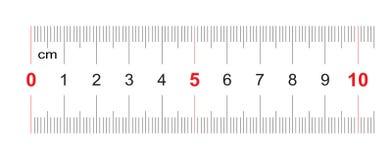 Règle de 100 millimètres Règle de 10 centimètres Grille de calibrage Division de valeur 1 millimètre Instrument de mesure bilatér