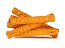 Règle en bois de centimètre, photos stock