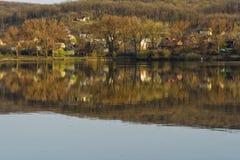 Règlement de lac Images stock