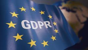 Règlement général GDPR de protection des données Photos libres de droits