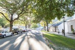 Règlement historique d'Arrowtown, Nouvelle-Zélande Image stock