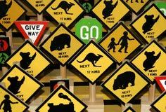 Règles australiennes Photo libre de droits