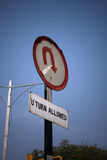 Règles de la circulation la Nouvelle Delhi Inde Photos stock