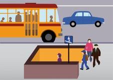 Règles de route Photographie stock libre de droits