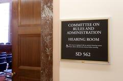 Règles de sénat et Comité d'administration image libre de droits