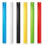 Règles en centimètres Image stock