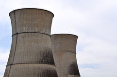 Réacteur de centrale nucléaire photographie stock
