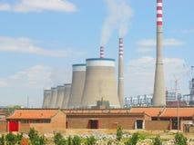 Réacteur nucléaire Photo stock