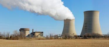 Réacteurs nucléaires Photo libre de droits