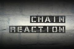 Réaction en chaîne GR photos stock