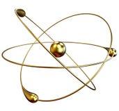 Réactions nucléaires de fusion froide Images libres de droits