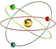 Réactions nucléaires de fusion froide illustration stock