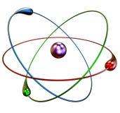 Réactions nucléaires de fusion froide Photo libre de droits