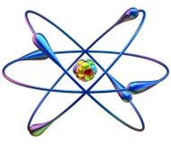 Réactions nucléaires de fusion froide Image libre de droits