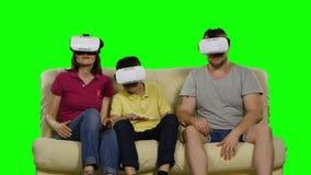 Réalité virtuelle Écran vert